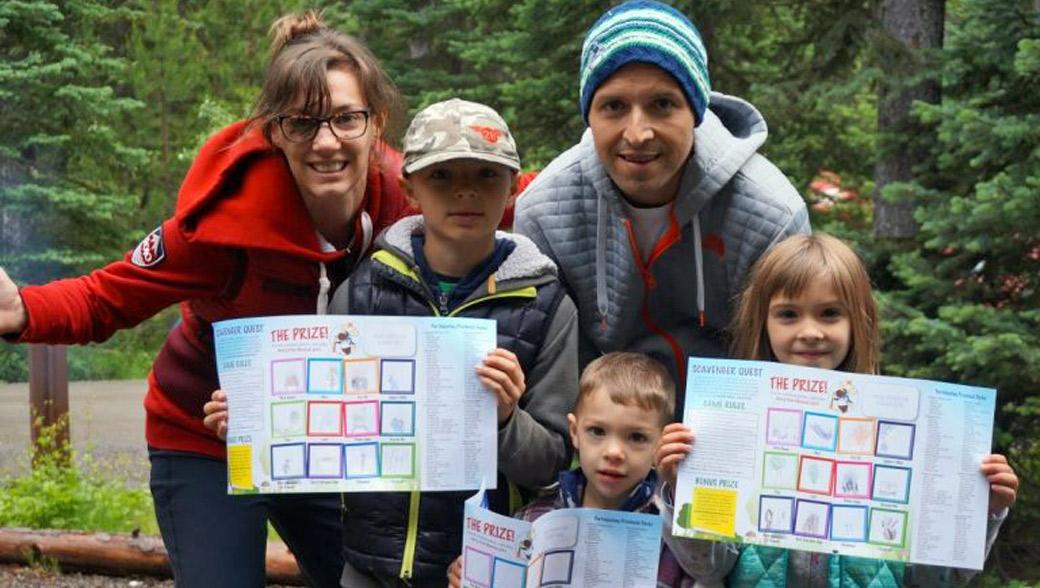 BC Parks Scavenger Quest