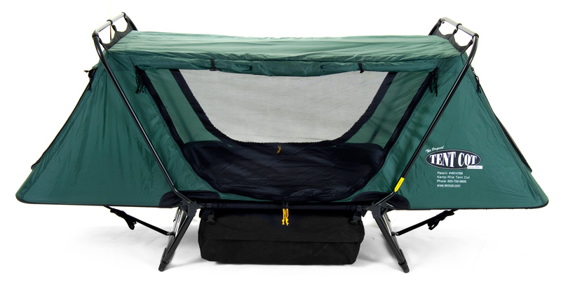 A Cot that also is a tent