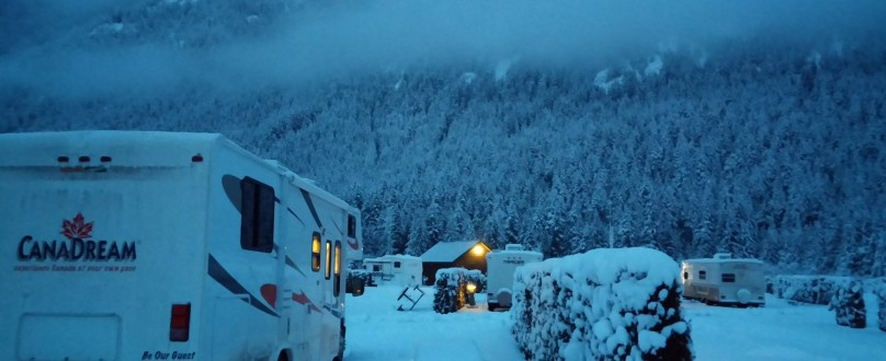 Winter Camping In British Columbia, Canada Growing In Popularity