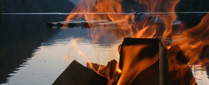 Campfires in British Columbia
