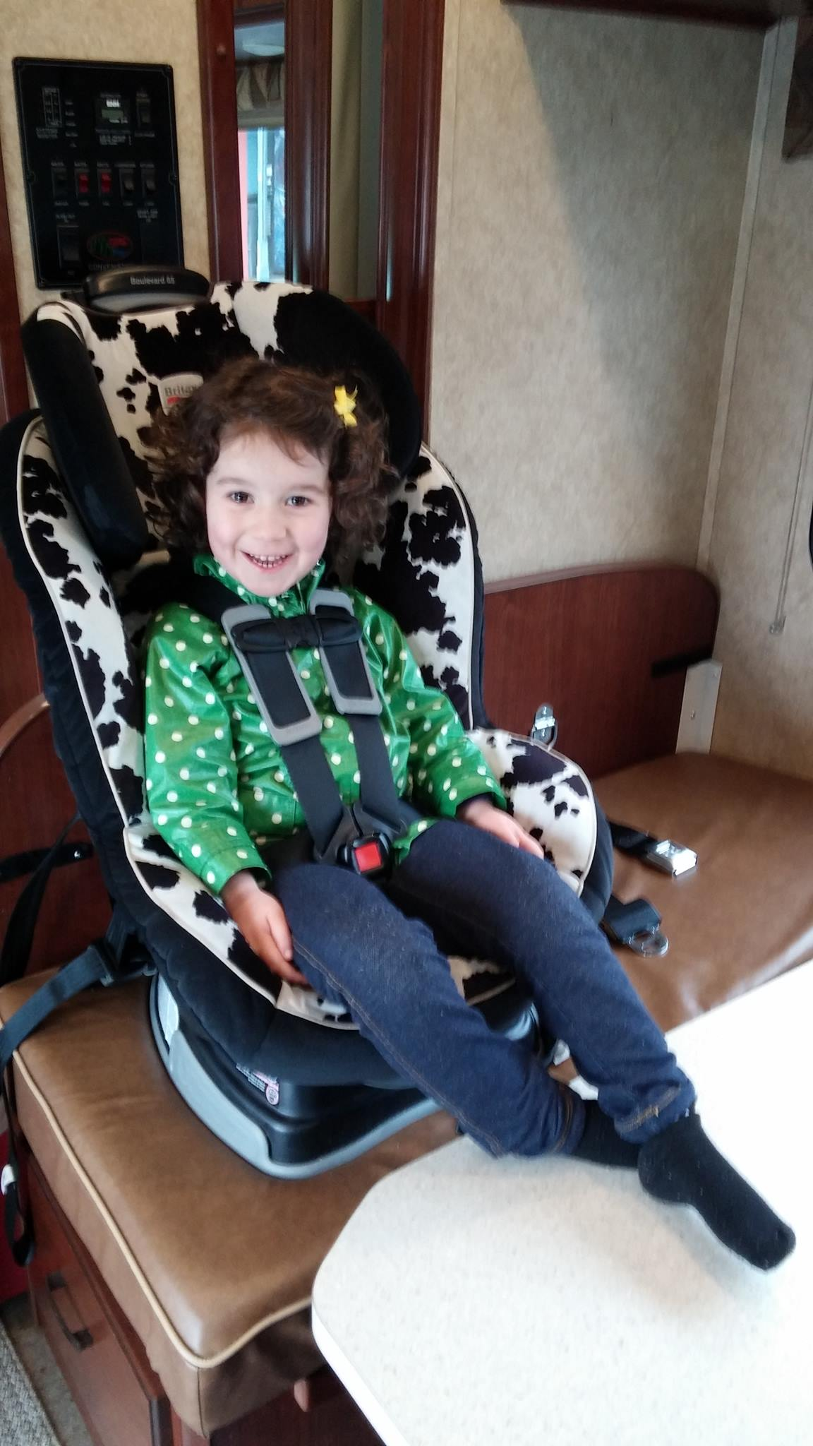 Rv Safety Where To Put The Carseat Camping Amp Rving Bc