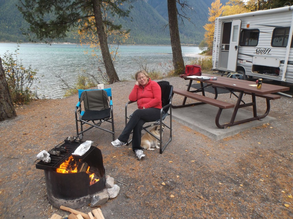 Our Anniversary Cruise Whiteswan Lake Camping Amp Rving Bc
