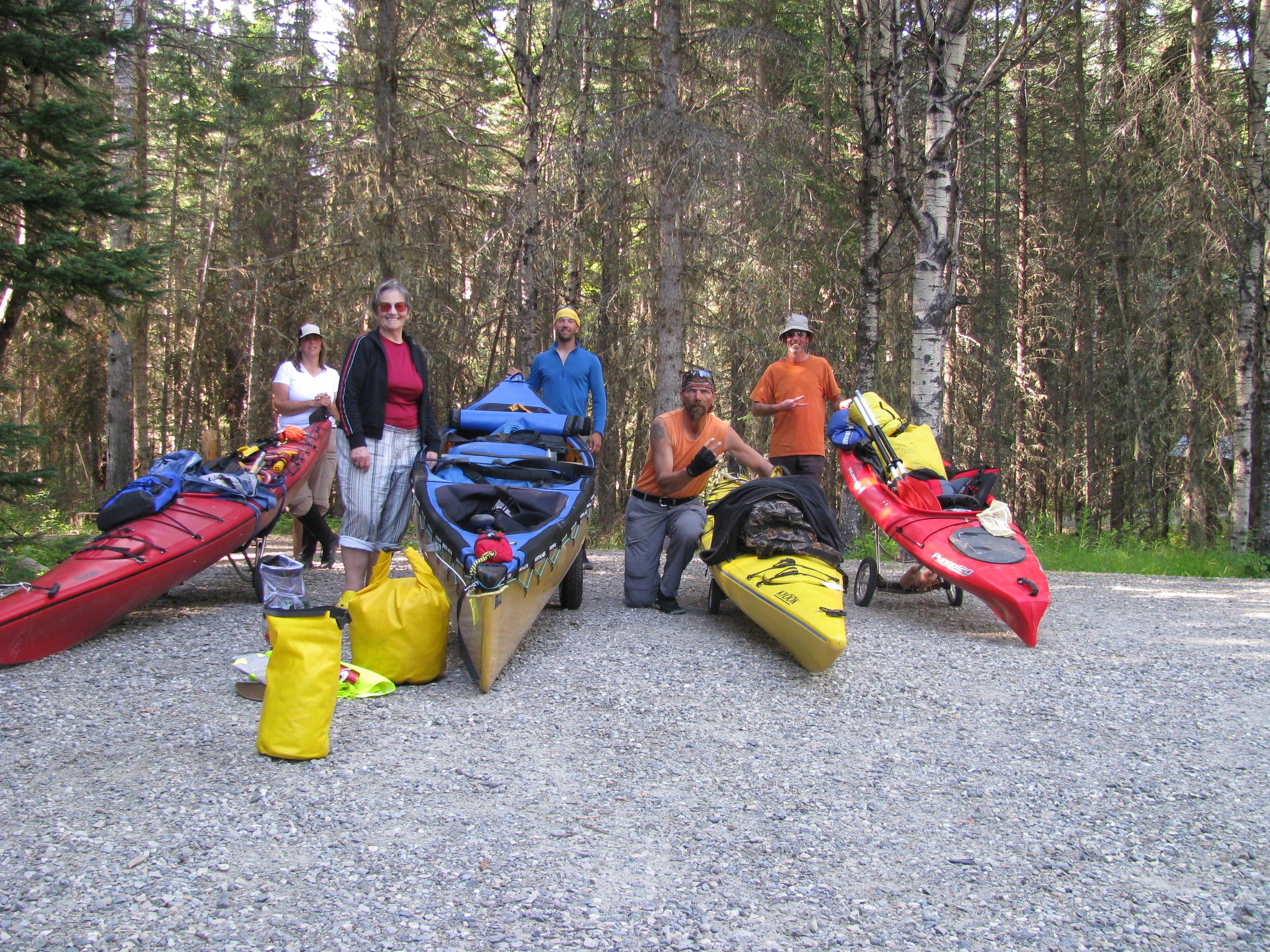 Canoe Trip At Bowron Lakes Camping Amp Rving Bc