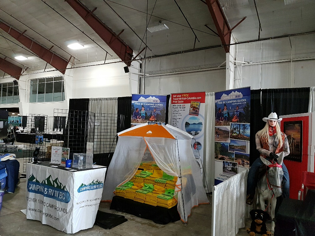 Camping Coalition Booth at the PetLover Show