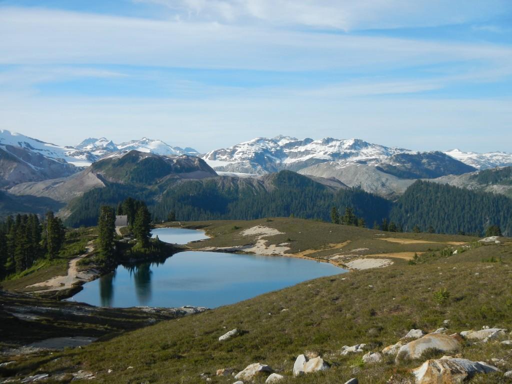 View of Elfin Lake