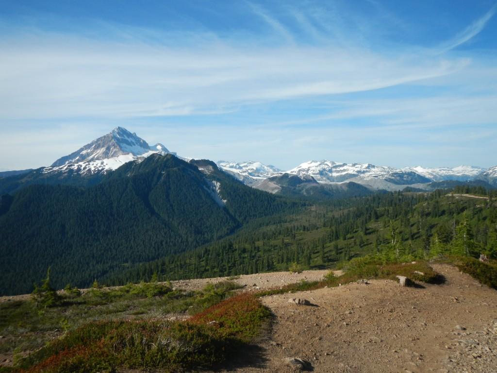 View at the top of Garibaldi Provincial Park