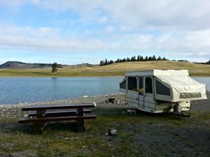 Lundbom Lake Campsite