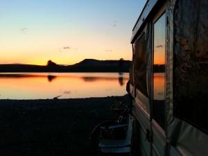 Lundbom Lake Sunset