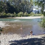 Vedder River is fun for the kids