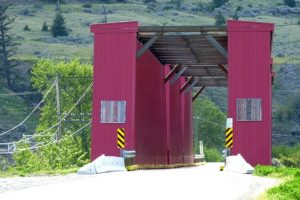 Red Bridge at Keremeos