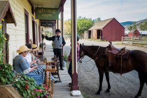 Actors in Historical Costume at Hat Creek Ranch. Photo: Destination BC/Blake Jorgenson
