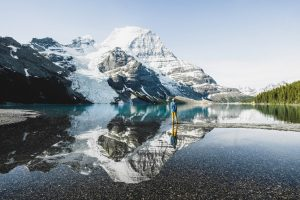 Hiking in Mount Robson Provincial Park. Photo: Destination BC/Megan McLellan