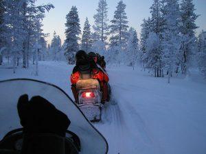 Jack Barnett Snowmobile Trail (Gold Rush Trail) by Fishing Hwy 24 Tourist Association