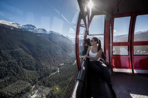 Peak to Peak Gondola, Whistler. Photo: Destination BC/Blake Jorgenson