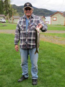 Walter Mark 2lb 8 oz lake trout caught at Hathaway Lake