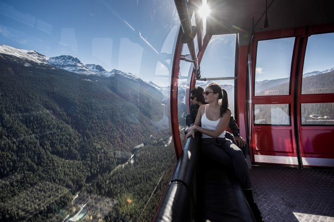 Peak to Peak Gondola in Whistler | Photo: Destination BC/Blake Jorgenson