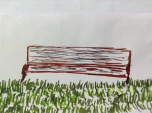 Thank you Katelyn for your park bench drawing