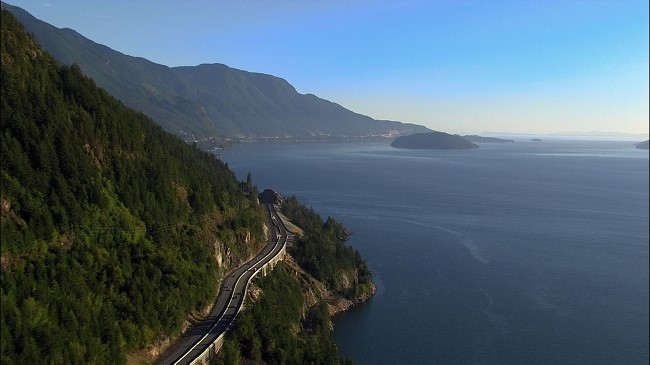 Sea to Sky Highway & Howe Sound, Photo: Destination British Columbia