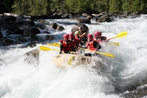 Whitewater Rafting on Nahatlach River, Boston Bar. Photo: Destination BC/Reo Rafting Ryan Robinson