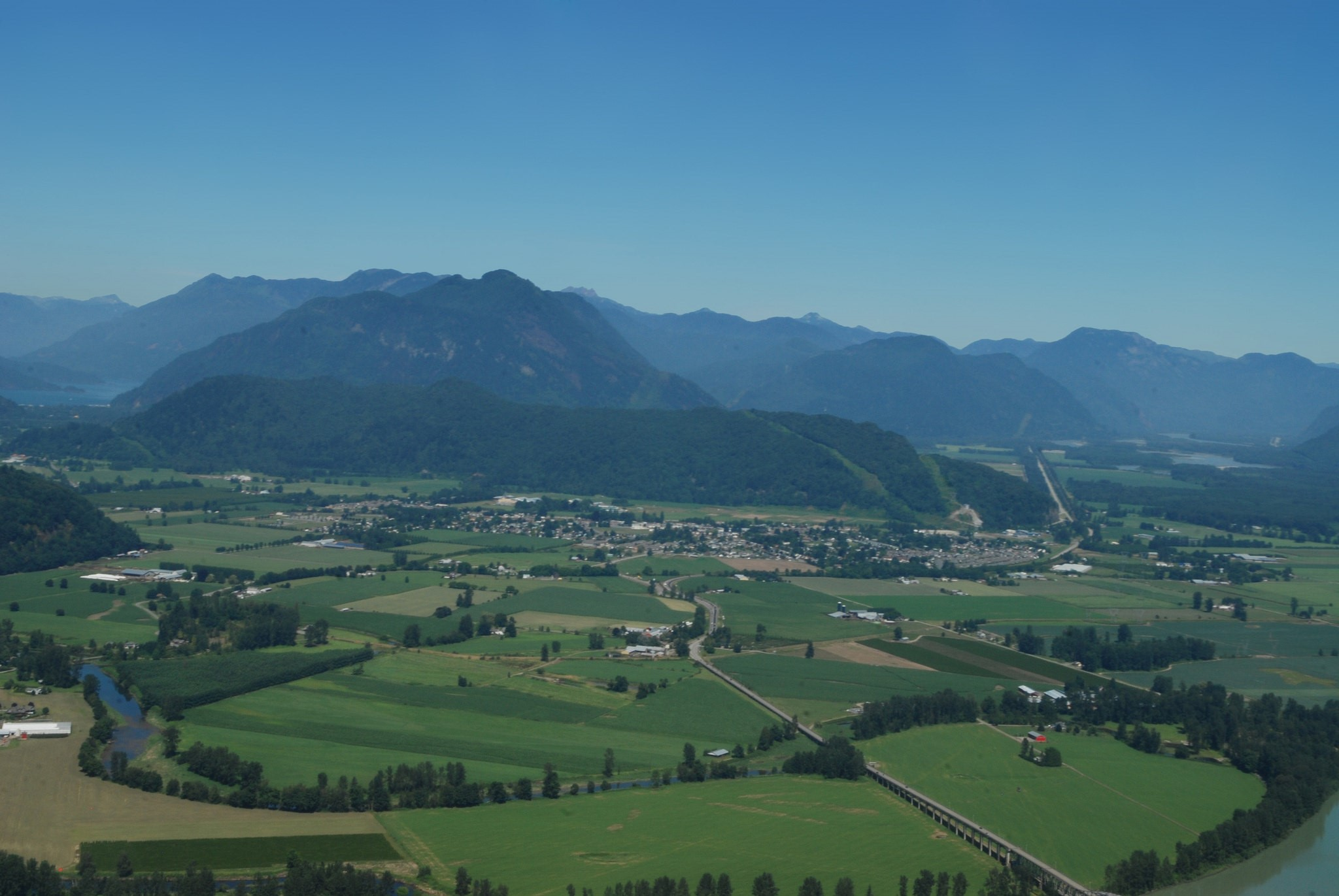 Farmlands in the District of Kent/Agassiz | Photo: Province of British Columbia