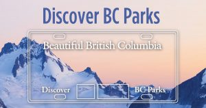 Purcell Mountains BC Parks Licence Plate