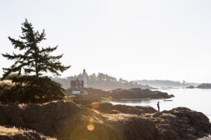 Hiking-Fisgard-Lighthouse-National-Historic Site Victoria Photo: destination BC/Reuben Krabbe
