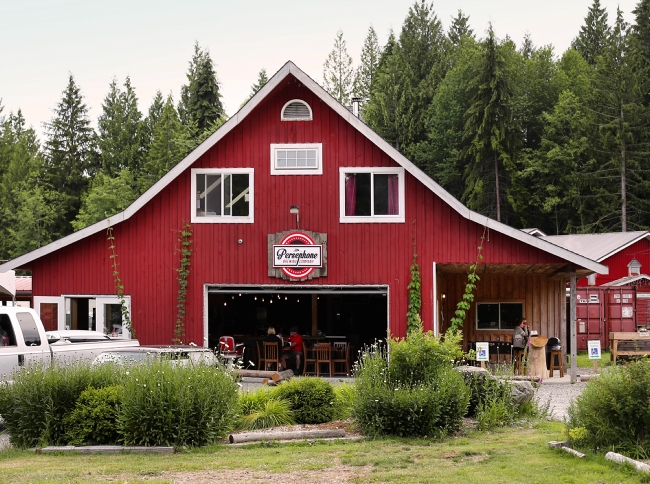 Persephone Brewing Company in Gibsons Photo: BC Ale Trail