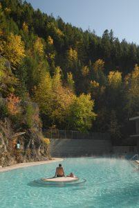 Radium Hot Springs, Kootenay National Park, British Columbia