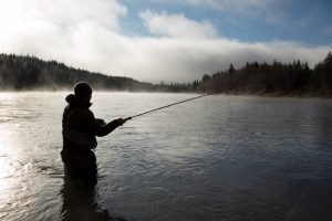 Fly Fishing in Northern BC. Photo: Destination BC/Jeremy Koreski