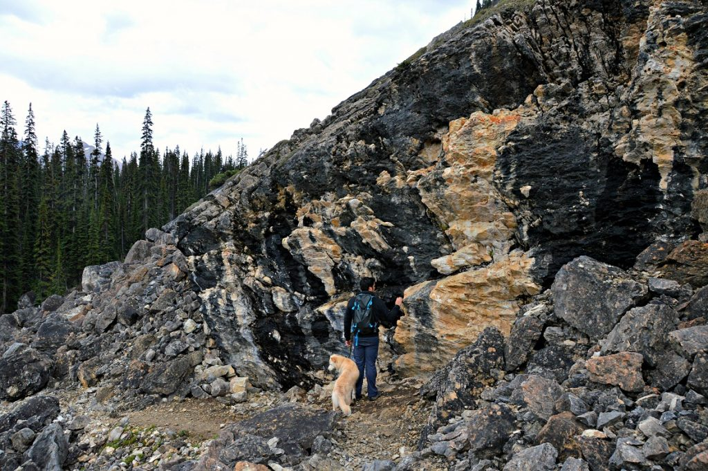 Hiking in Yoho National Park, British Columbia