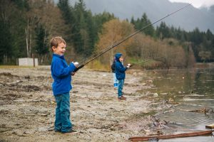 Having fun Fishing. Photo: Justine Russo