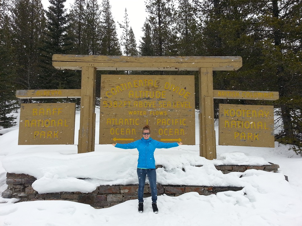 Continental Divide, Kootenay National Park