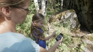 Geocaching in Mt. Revelstoke National Park