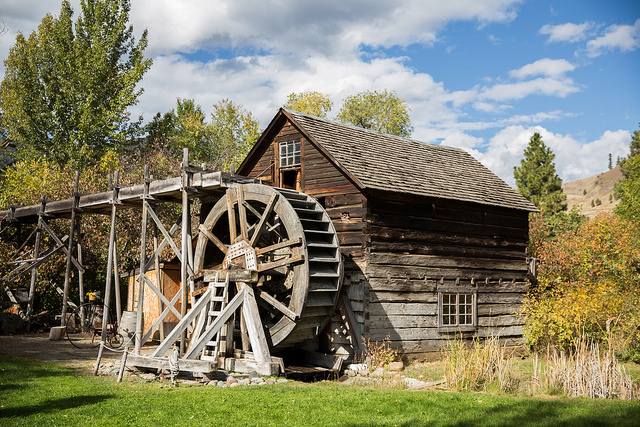 Keremeos Grist Mill, Picture BC