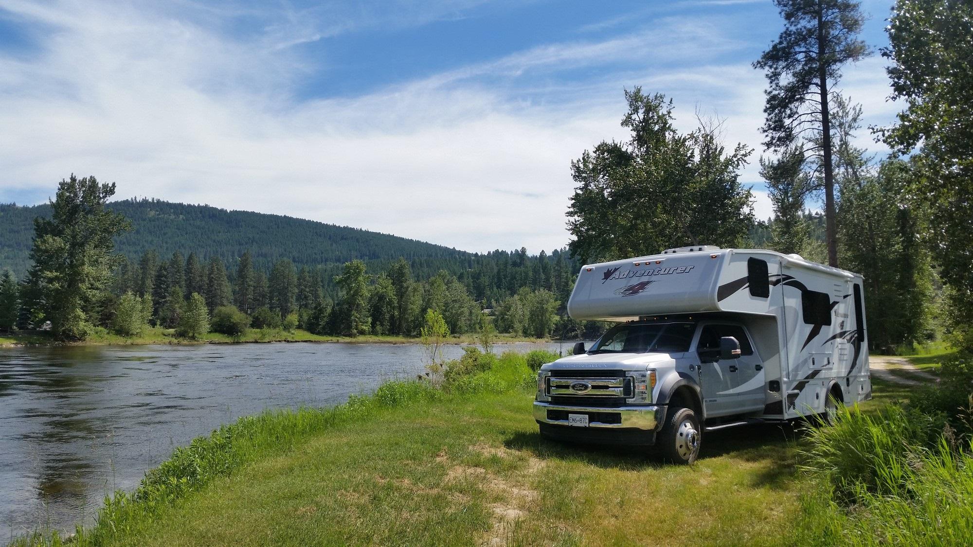 Kettle River near Rock Creek