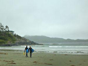 Surfing Pacific Rim