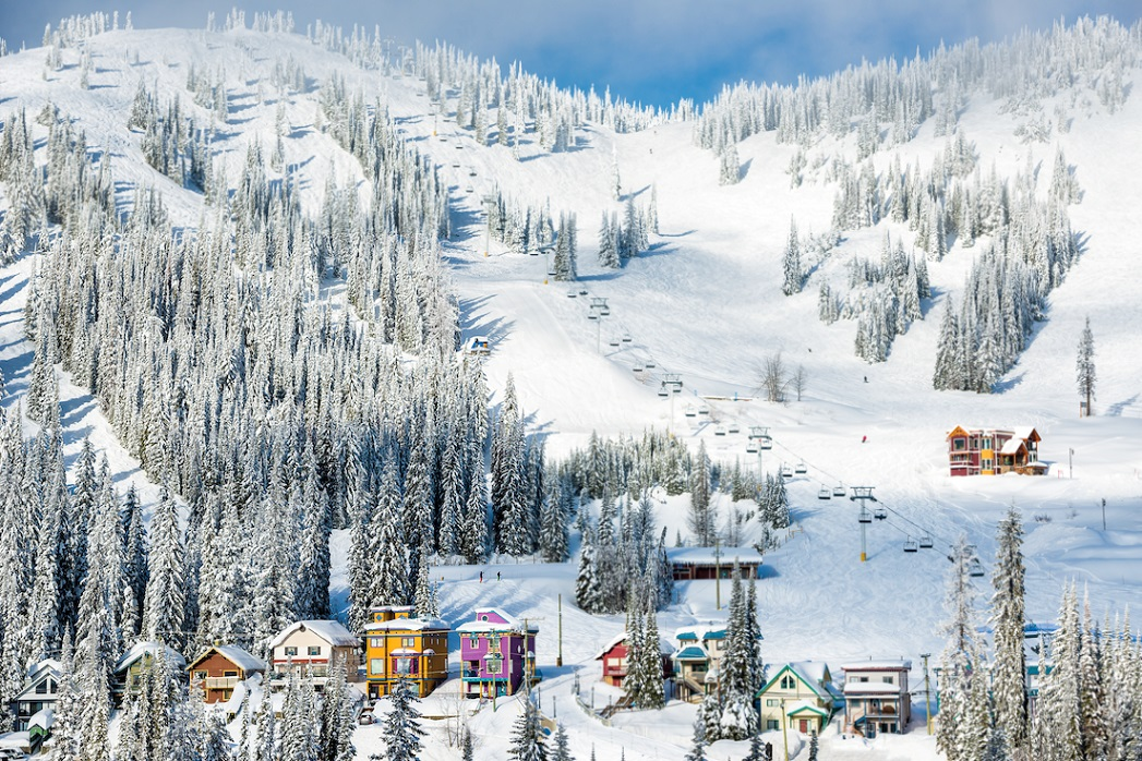 SilverStar Mountain Resort. Photo Credit Destination BC/Blake Jorgenson