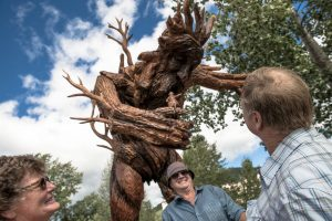 Chainsaw Carving, Chetwynd