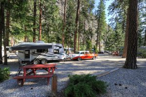 Gallagher Lake Resort Campsite