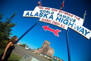 Mile Zero, Alaska Highway
