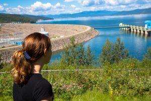 WAC Bennett Dam