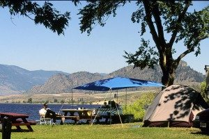 Camping in the Okanagan