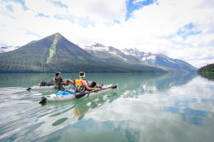 "Submitted by member Jessica Tricker ""A picture from our amazing week long backcountry canoe trip in the beautiful Bowron Lake Canoe circuit in BC."""