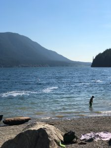 Beach at Alouette Lake at Golden Ears Park | Darlene Oswald