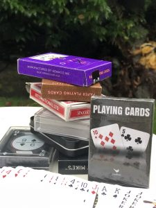 Card Games. Photo: Darlene O