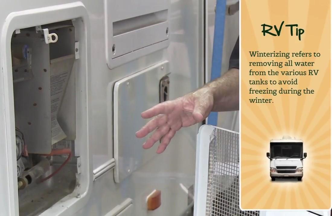Winterizing Your RV