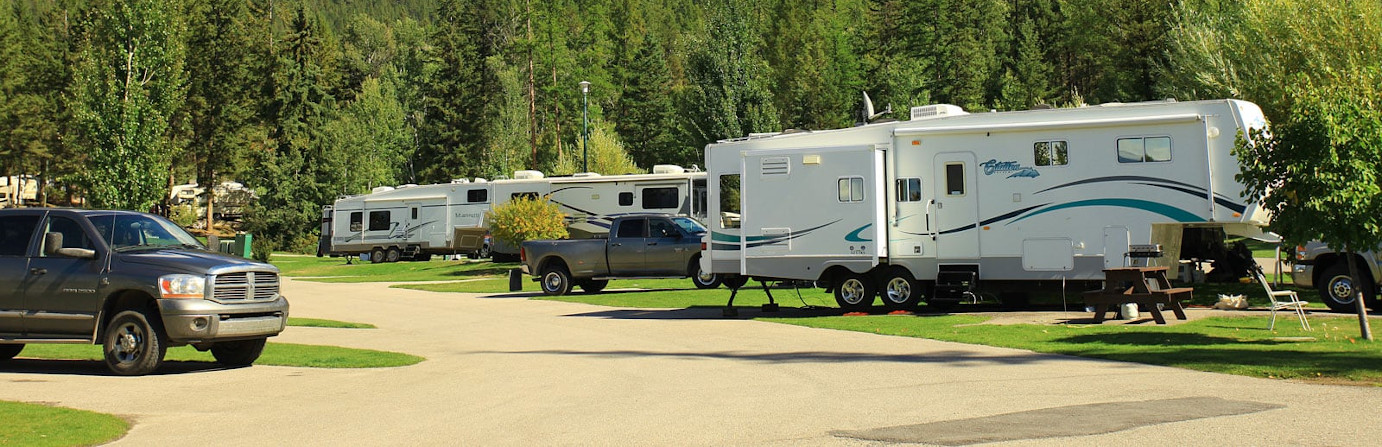 Fairmont Hotsprings RV Resort