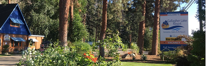 Gallagher Lake – A Parkbridge Camping & RV Resort