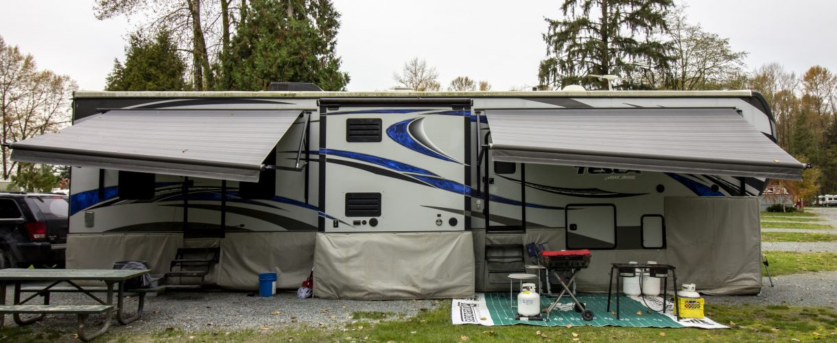 Preparing Your RV for a British Columbia Winter Camping Trip