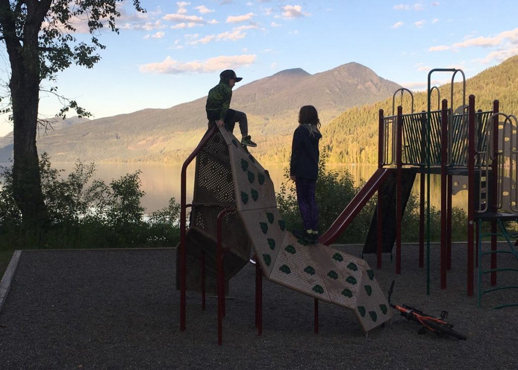 Wells Gray Provincial Park Playground